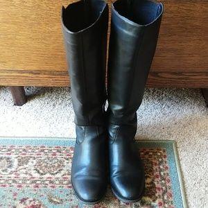 Bass knee high boots
